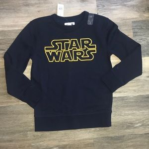NWT Gap Kids Star Wars Sweatshirt